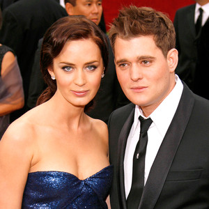 Emily Blunt, Michael Buble