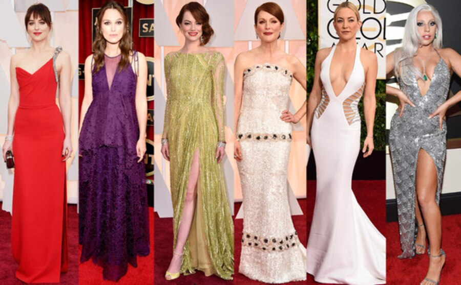 Red Carpet, Dakota Johnson, Keira Knightley, Emma Stone, Julianne Moore, Kate Hudson, Lady Gaga