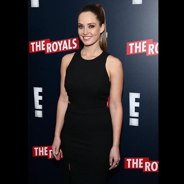 <i>The Royals</i>' Merritt Patterson Instagrams Super Cute Cast Moments&mdash;See Her Latest Pics!