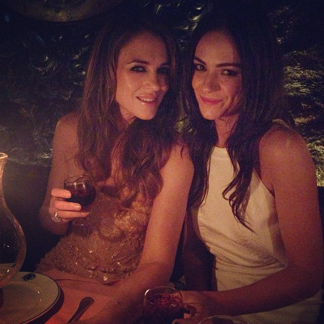 <i>The Royals</i>' Alexandra Park Hangs With Elizabeth Hurley in Cannes&mdash;See Her Coolest Pics!