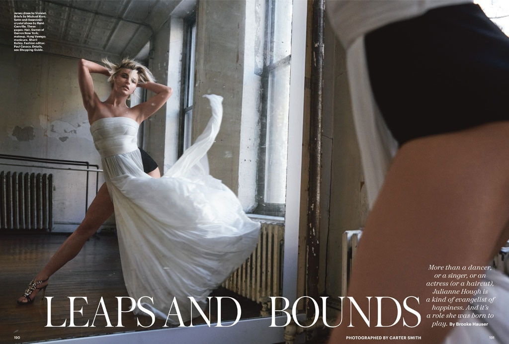 Julianne Hough, Allure Magazine
