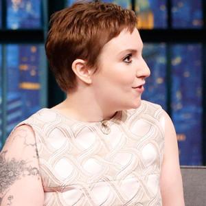 Lena Dunham, Pixie Cut, Late Night With Seth Meyers