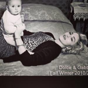 Madonna, Dolce and Gabbana, Instagram