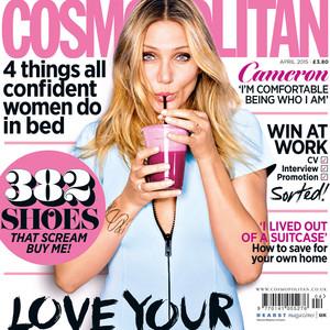 Cameron Diaz, British Cosmopolitan