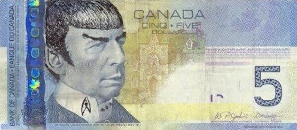 Leonard Nimoy, Spock Money