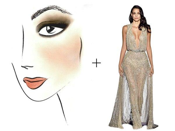 Style Collective, Dress Makeup Pairings, Zuhair, Megan