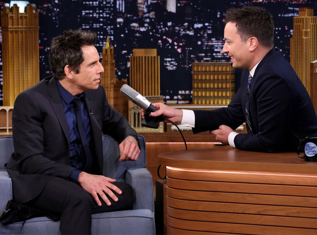 Ben Stiller, Jimmy Fallon, Tonight Show