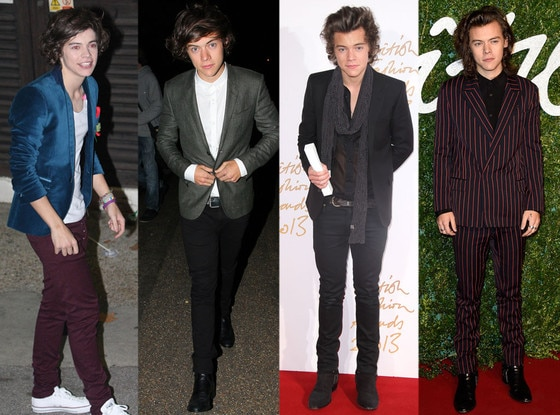 One Direction, Harry Styles, Fashion