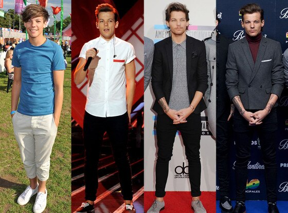 One Direction, Louis Tomlinson, Fashion