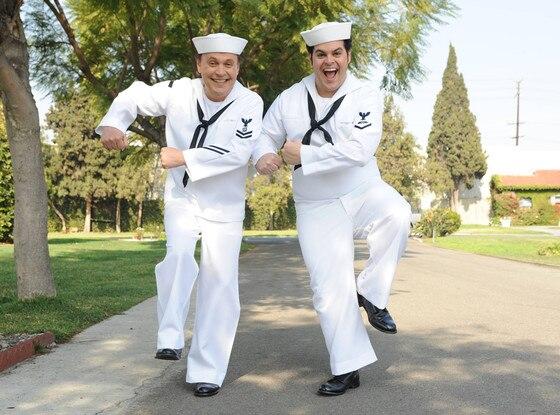 Josh Gad, Billy Crystal, The Comedians