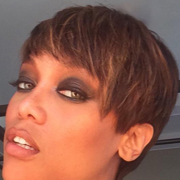 Tyra Banks Music Video: Tyra Banks From Celebs With Pixie Cuts