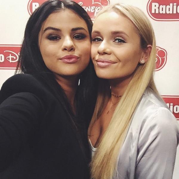 Selena Gomez,  Alli Simpson, Instagram