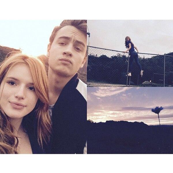 Brandon Lee, Bella Thorne, Instagram