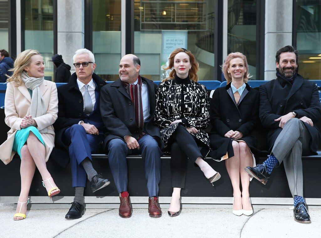 Mad Men Cast, Jon Hamm, January Jones, Elisabeth Moss, Christina Hendricks, John Slattery, Matthew Weiner