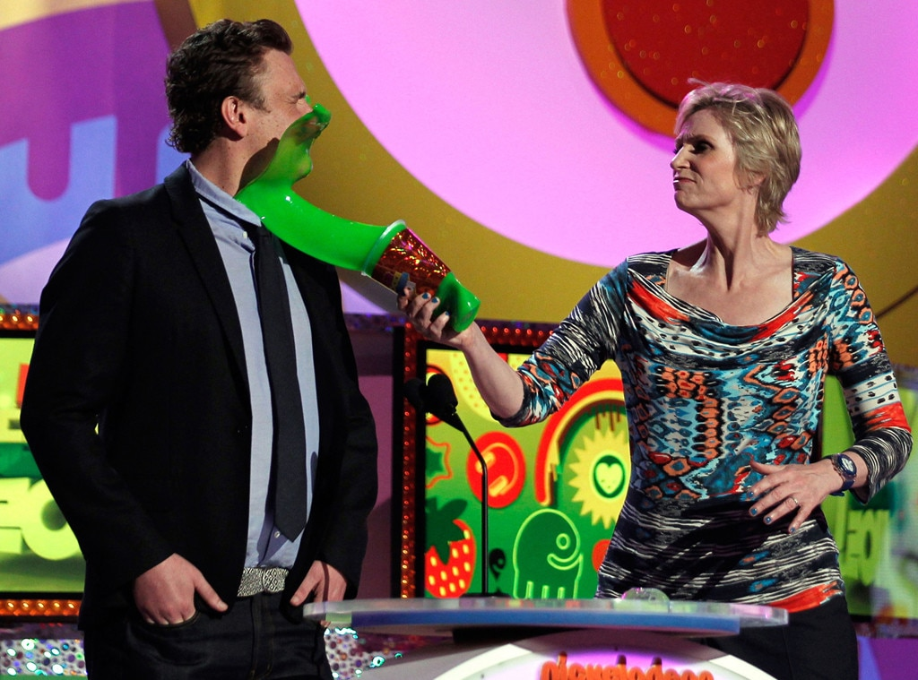 Jason Segel, Jane Lynch, Kids Choice Awards