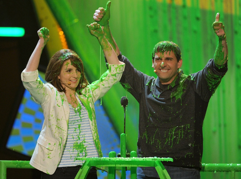 Tina Fey, Steve Carell, Kids Choice Awards