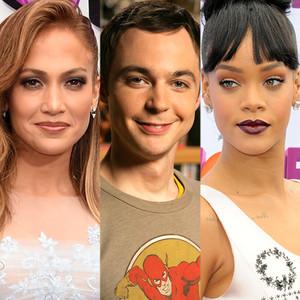 Jennifer Lopez, Jim Parsons, Rihanna