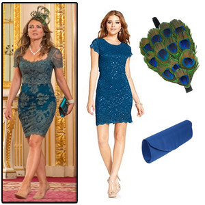 Elizabeth Hurley's Peacock-Inspired Garden Party Dress and More&mdash;Get Your Favorite Looks From <i>The Royals</i>!