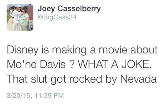 Joey Casselberry, Tweet