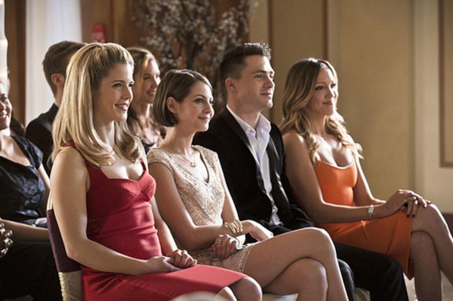Arrow, Emily Bett Rickards, Willa Holland, Colton Haynes, Katie Cassidy