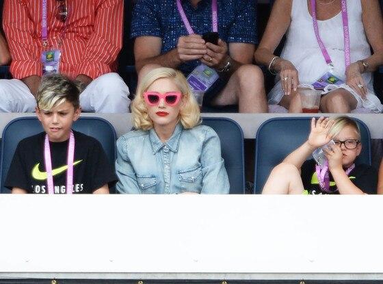 Gwen Stefani, Kingston Rossdale, Zuma Rossdale