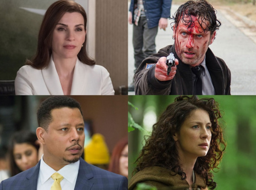 WWK Chat, Julianna Margulies, Andrew Lincoln, Caitriona Balfe, Terrence Howard