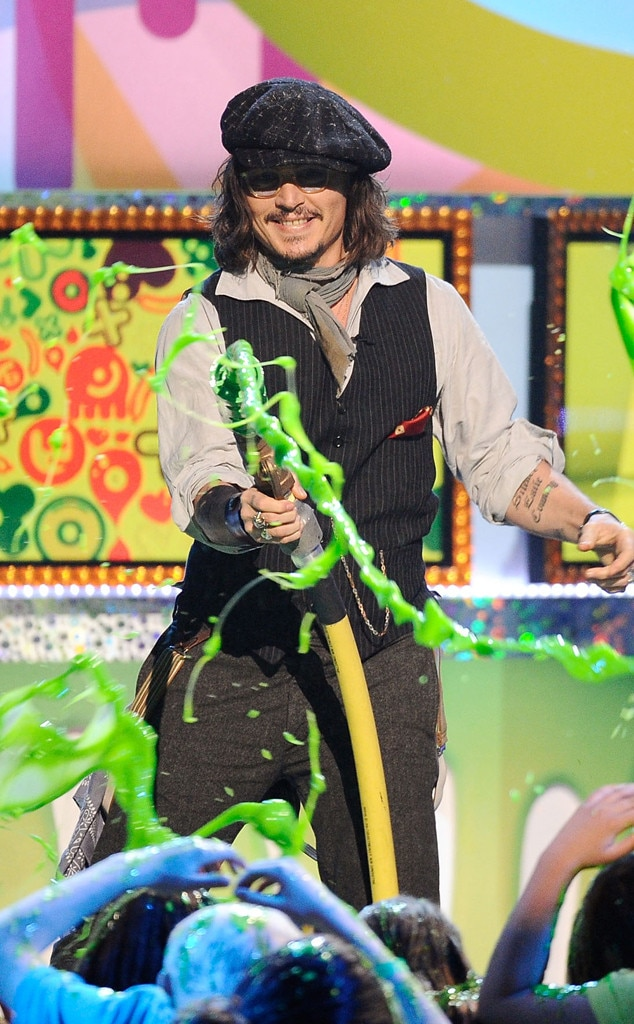 Johnny Depp, Kids Choice Awards