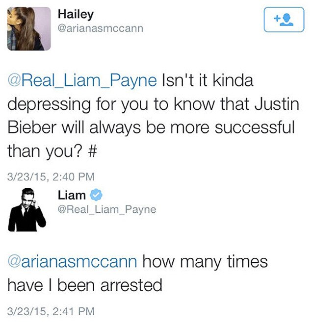 Liam Payne, Twitter
