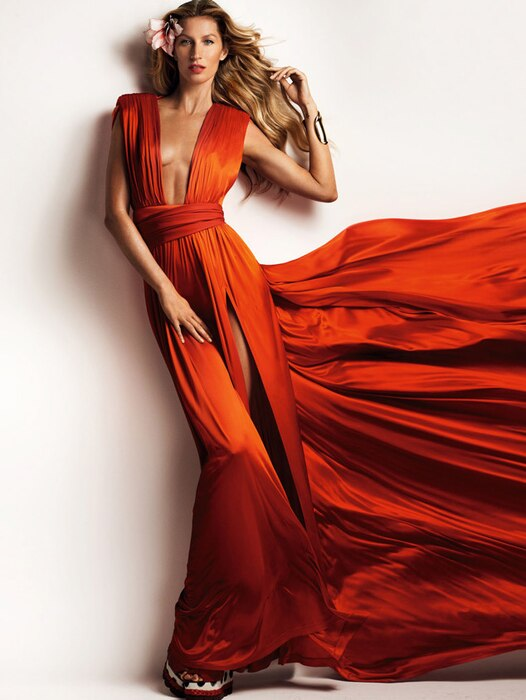 Gisele Bundchen, Top Modeling Moments, Vogue China 2015