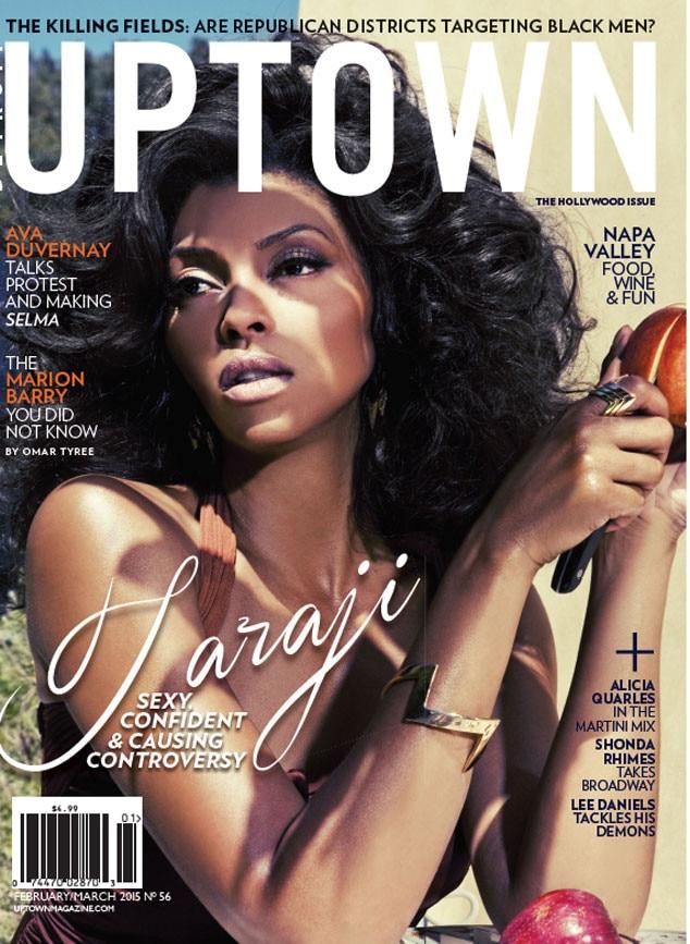 Taraji P. Henson, UPTOWN Magazine