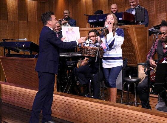 Jimmy Fallon, Roxanne Chalifoux, Tonight Show