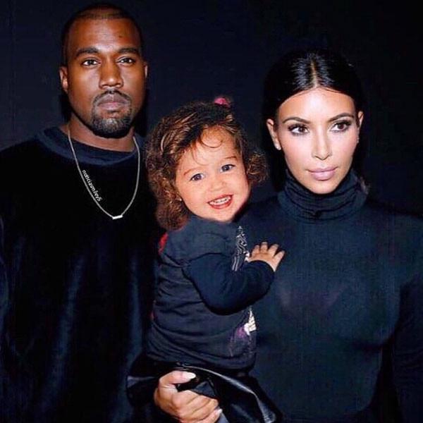 Miley Cyrus, Kim Kardashian, Kanye West, Instagram