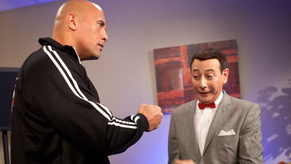 Pee Wee Herman, WrestleMania