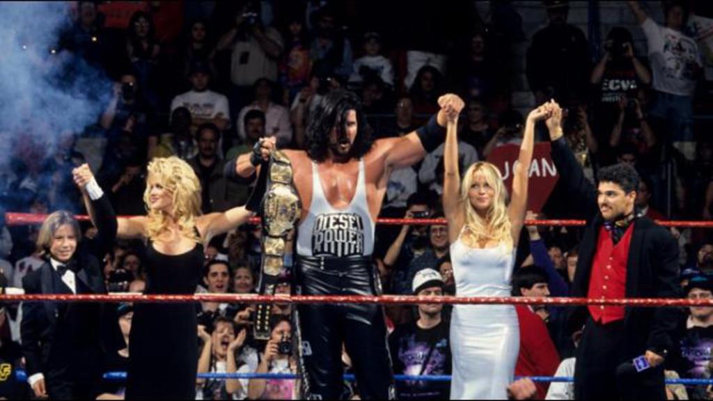 Johnathan Taylor Thomas, Pamela Anderson, WrestleMania