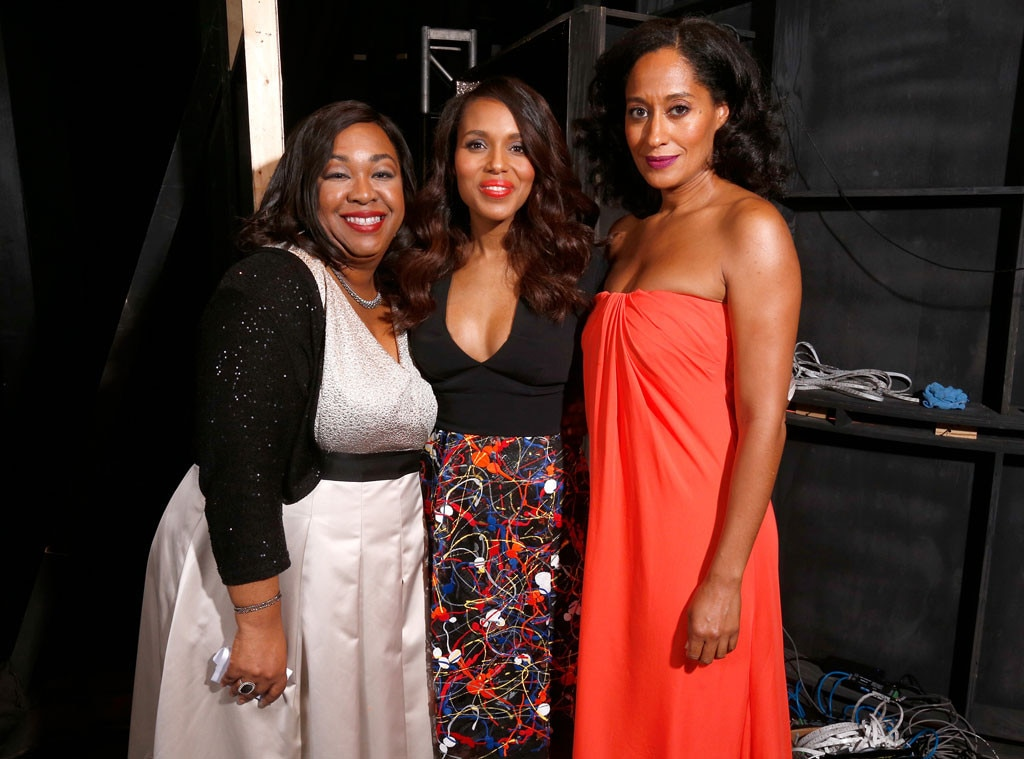 Shonda Rhimes, Kerry Washington, Tracee Ellis Ross