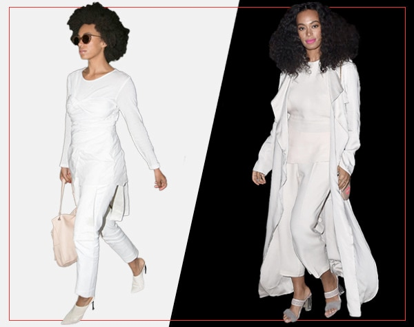 ESC, Day and Night Celeb Style, Solange