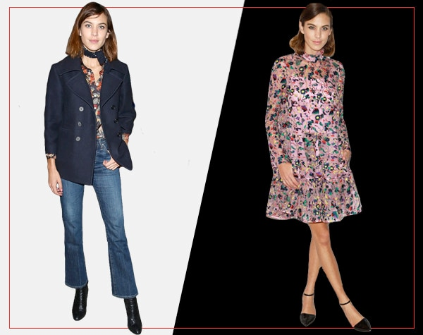 ESC, Day and Night Celeb Style, Alexa Chung