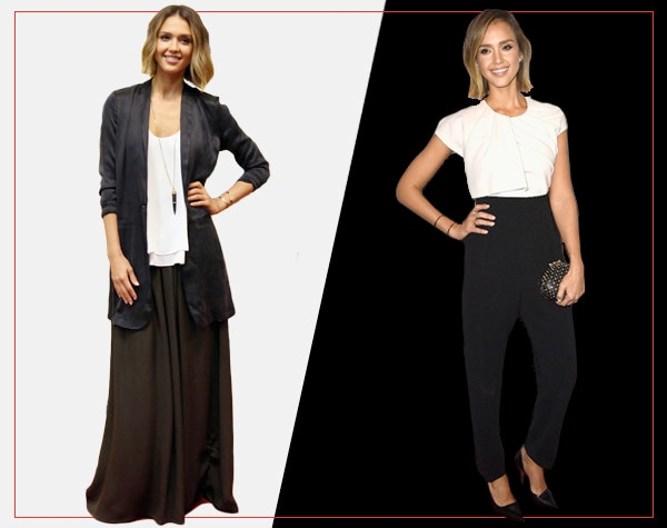 ESC, Day and Night Celeb Style, Jessica Alba