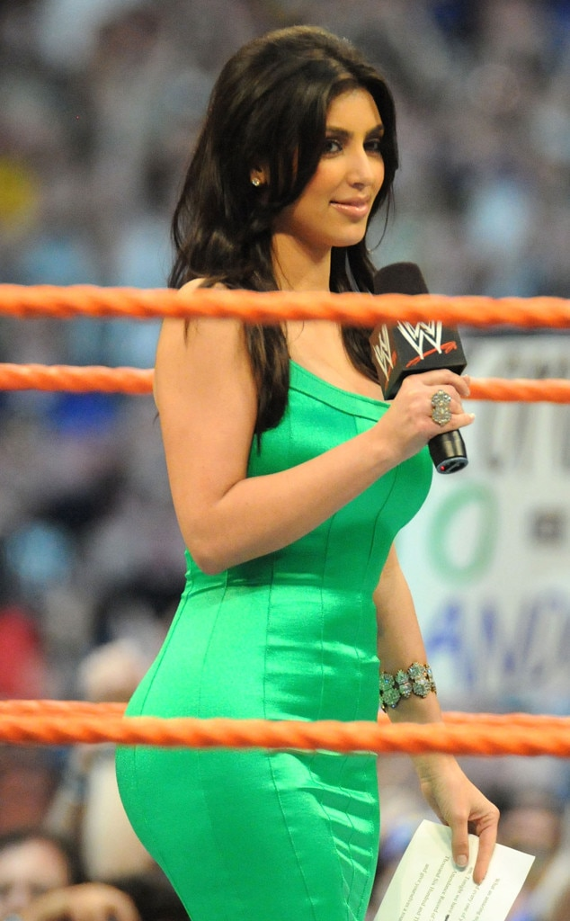 Kim Kardashian, WrestleMania