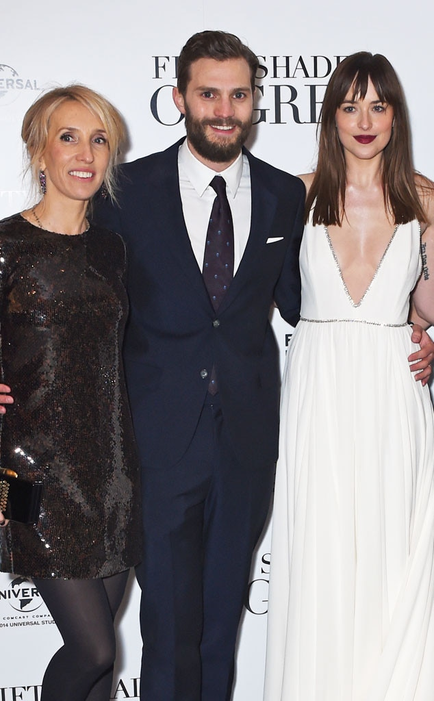 Sam Taylor-Johnson, Jamie Dornan, Dakota Johnson