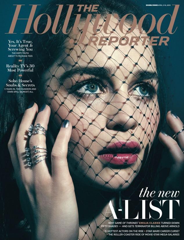 Emilia Clarke, The Hollywood Reporter
