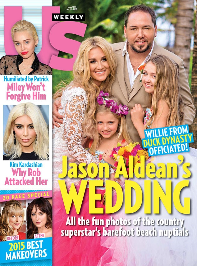 US Weekly, Jason Aldean and Brittany Kerr