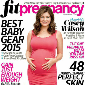 Casey Wilson, Fit Pregnancy