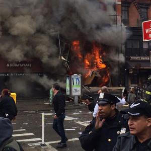 New York Explosion, Twitter