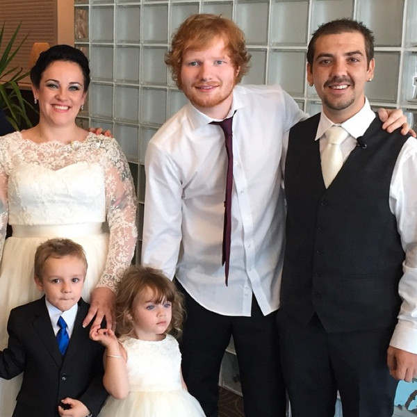 Ed Sheeran Surprises Couple At Their Wedding To Sing For
