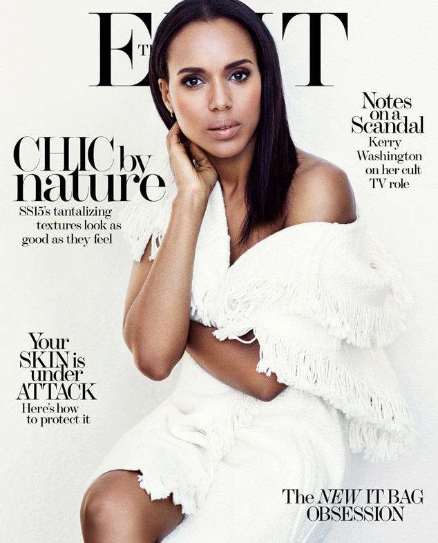 Kerry Washington, The Edit