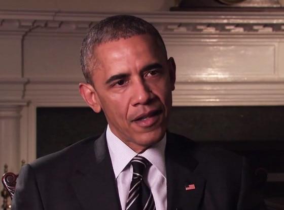 Barack Obama, Interview