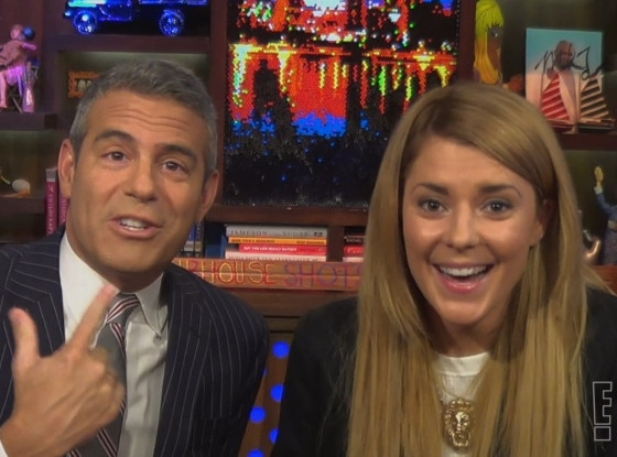 Grace Helbig, Andy Cohen