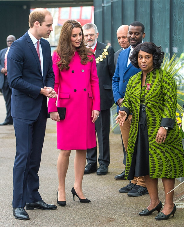 Prince William, Kate Middleton, Catherine, Duchess of Cambridge, Doreen Lawrence, Baroness Lawrence