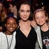 Angelina Jolie, Zahara Jolie-Pitt, Shiloh Nouvel Jolie-Pitt, Kids' Choice Awards